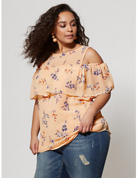 Ftf Amanda Floral Top by New York & Company