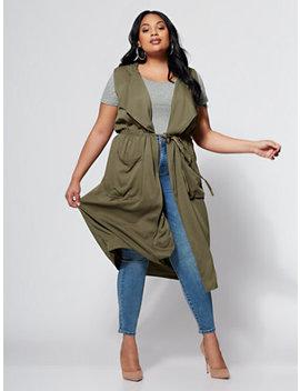Ftf Olive Tunic Vest by New York & Company