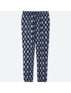 Women Drape Pants (Geometric) by Uniqlo