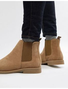 New Look Chelsea Boots In Light Stone by New Look