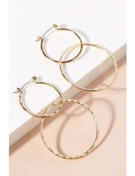 Double Link Hoop Earrings by Anthropologie