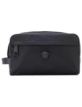 Medusa Head Wash Bag by Versace