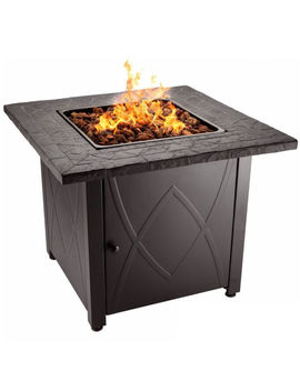 Blue Rhino Endless Summer Outdoor Propane Gas Lava Rock Patio Fireplace Fire Pit by Ebay Seller