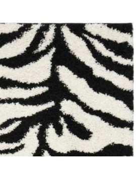 Safavieh Zebra Shag Off by Safavieh