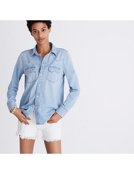 Denim Western Shirt by Madewell
