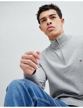 Tommy Hilfiger Half Zip Sweatshirt by Tommy Hilfiger