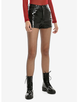 Tripp High Waisted Vinyl Shorts by Hot Topic