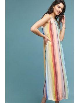 Farm Rio Rainbow Striped Dress by Farm Rio