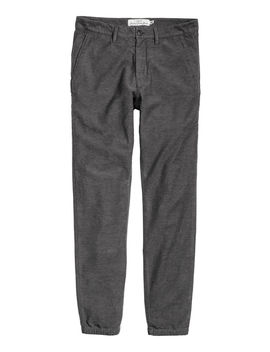 Flannel Pants Skinny Fit by H&M