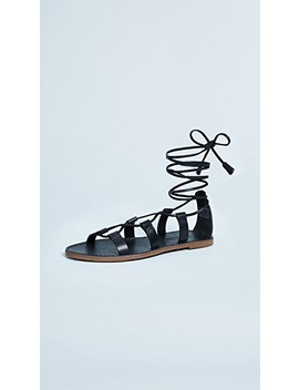 Outstock Lace Up Sandals by Madewell