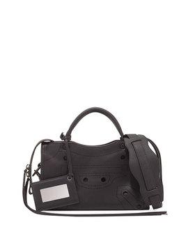 City Aj Extra Small Tote Bag, Black by Balenciaga