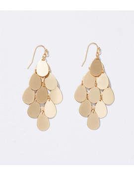 Chandelier Disc Earrings by Loft