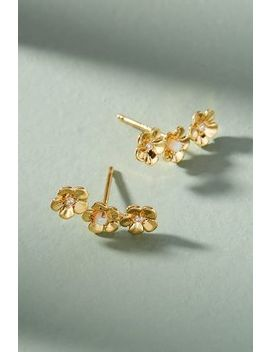 Trenita Climber Earrings by Anthropologie