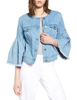 Bell Sleeve Denim Jacket by Halogen®