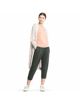 Women Ai Rism Wide Tapered Pants by Uniqlo