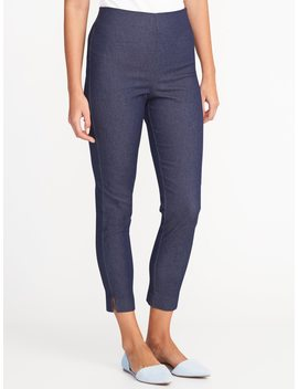 High Rise Clean Front Pixie Pants For Women by Old Navy