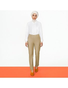 Women Hana Tajima Extra Fine Cotton Long Sleeve Shirt by Uniqlo