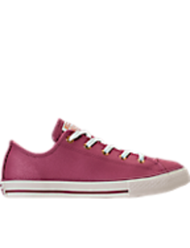 Girls' Grade School Converse Chuck Taylor Ox Leather Casual Shoes by Converse