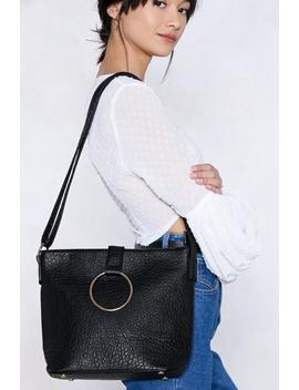 Want O Rings A Bell Vegan Leather Bag by Nasty Gal
