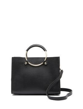 New Palm Leather Satchel by Belle & Bloom