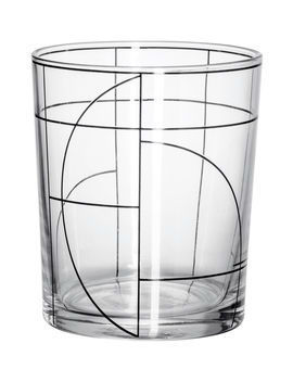 Patterned Beverage Glass by H&M