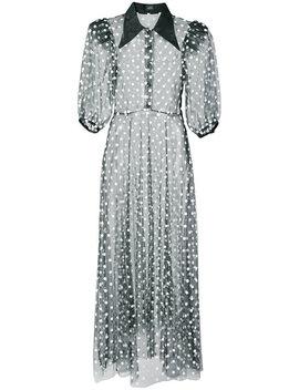 Sheer Polka Dot Dress by Jill Stuart