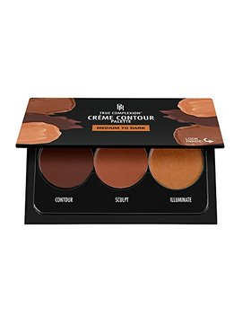 Black Radiance True Complexion Creme Contour Palette, Medium To Dark, 7.5 Gram by Black Radiance