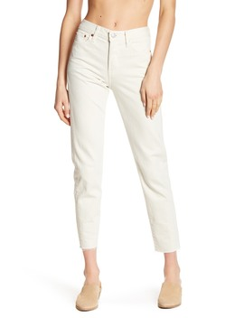Wedgie Icon Fray Hem Jeans by Levi's