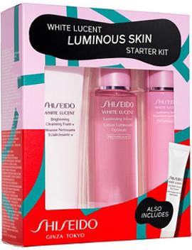 White Lucent Luminous Starter Kit by Shiseido