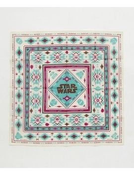 Star Wars Official Goods Native Pattern Bandana Scarf Ivory Color Unisex Japan by Star Wars