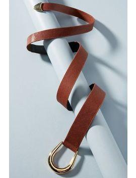 Sheila Toggled Knot Belt by Raina Belts