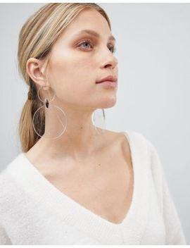 Asos Design Resin Disc Drop Earrings by Asos Design