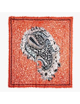 Paisley Square Scarf by Madewell