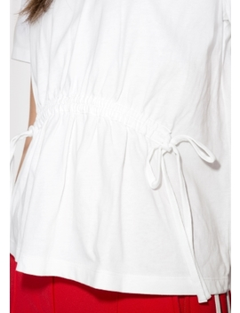 Drawstring Waist Tee by & Other Stories