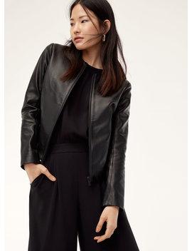 Jett Leather Jacket by Babaton