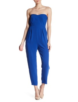 Strapless Sweetheart Jumpsuit by 19 Cooper