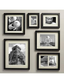 Black Wood Moda Wall Frame by World Market
