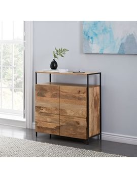 Industrial Storage Small Cabinet by West Elm