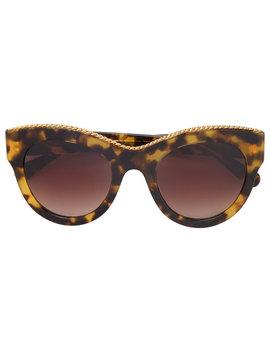 Havana Oversized Square Sunglasses by Stella Mccartney Eyewear