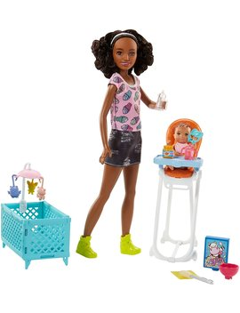 Barbie Babysitters Inc. Feeding Playset by Barbie