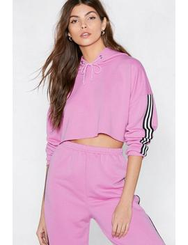 Go Easy Striped Hoodie by Nasty Gal