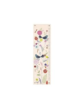 Birds And Blooms Growth Chart by Crate&Barrel