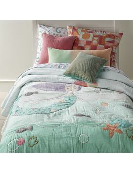 Twin Mermaid Quilt by Crate&Barrel