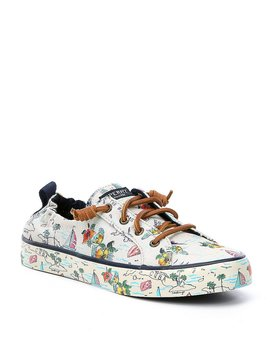 Crest Ebb Map Sneakers by Sperry