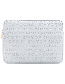 Logo Computer Case by Marc Jacobs