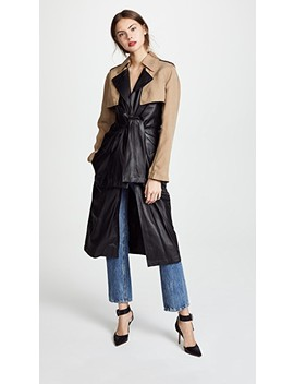 Combo Trench Coat by Alexander Wang