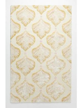 Tufted Foliage Rug by Anthropologie