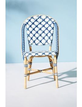 Woven Bistro Indoor/Outdoor Dining Chair by Anthropologie