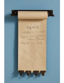 Kraft Paper Roll Holder + Clip Set by Anthropologie
