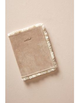 Fringed Zora Journal by Anthropologie